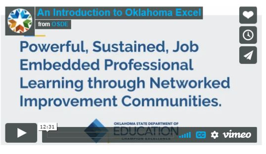 Oklahoma Excel Oklahoma State Department Of Education