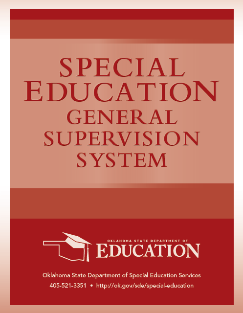 General Supervision System Manual Cover