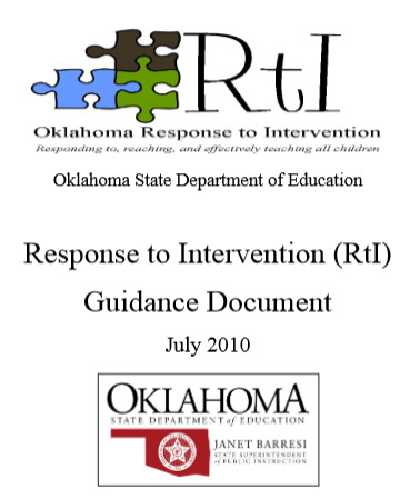 RTI Guidance Document