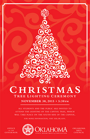 Christmas Tree Lighting Ceremony poster
