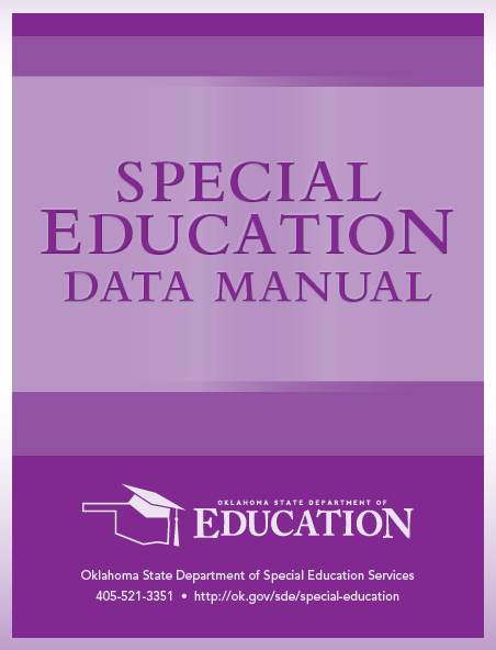 Special Education Data Manual