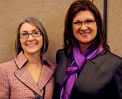 Dr. Axtell, left, and Dr. Musgrove, right