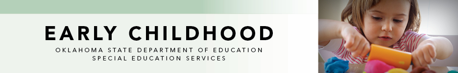 Early Childhood banner | Special Education Services