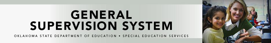 General Supervision System Banner