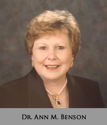 Picture of Dr. Ann M. Benson
