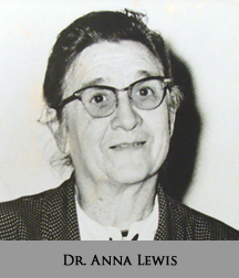 Picture of Dr. Anna Lewis