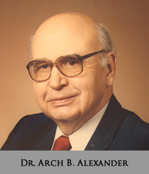 Picture of Dr. Arch B. Alexander