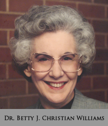 Picture of Dr. Betty J. Christian Williams
