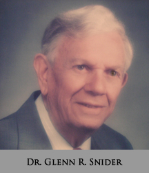 Picture of Dr. Glenn R. Snider