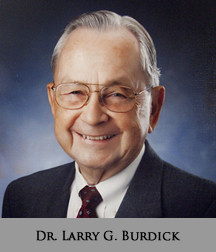 Picture of Dr. Larry G. Burdick