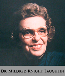 Picture of Dr. Mildred Knight Laughlin