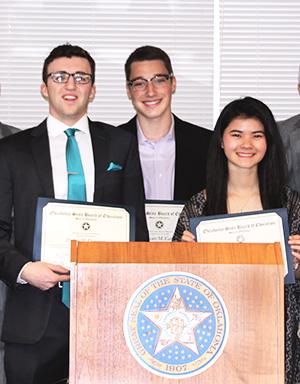 Presidential Scholars, Dawson, Carson, White