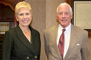 Superintendent Janet Barresi and New State Board of Education member, Daniel Keating