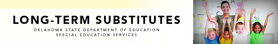 Long-Term Substitutes banner