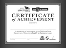 Read 5 for Summer Certificate of Achievement Black/White print download