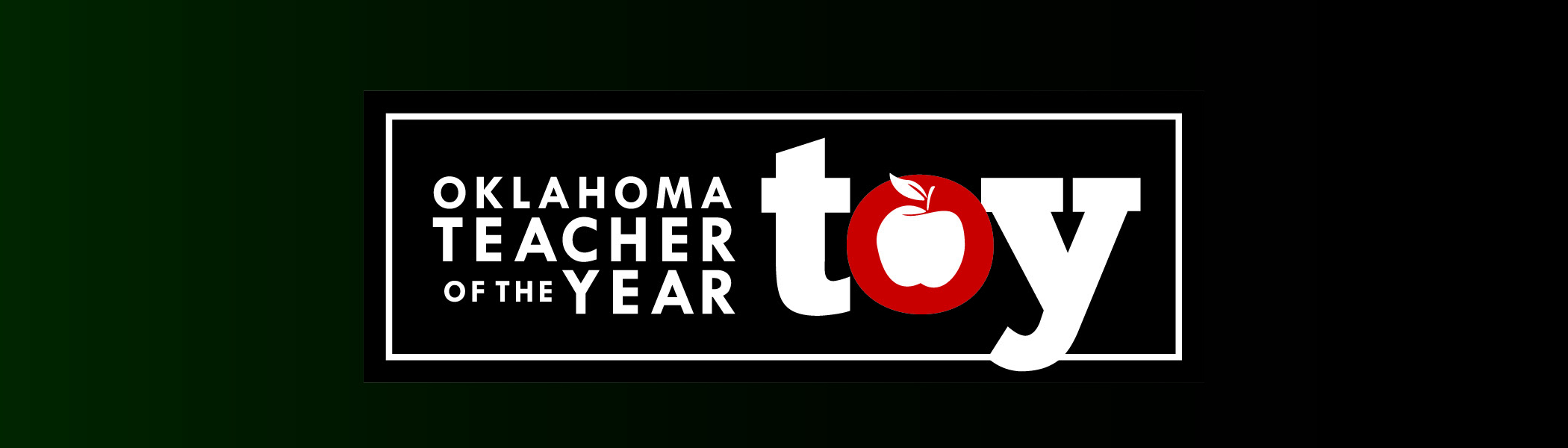 Oklahoma Teacher of the Year Banner