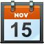 November 15 icon