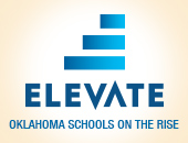 Elevate | Oklahoma Schools on the rise logo