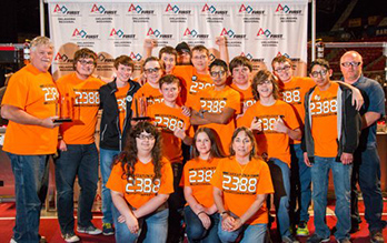 FIRST robotics team