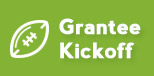 Grantee Kickoff button