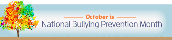 National Bullying Prevention Month page banner