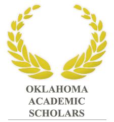 Oklahoma Academic Scholars emblem