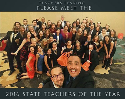 "state teachers of the year 2016 ""Teachers Leading"""