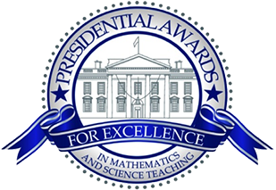 Presidential Awards for Excellence in Mathematics and Science Teaching logo