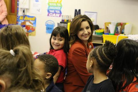State Superintendent of Public Instruction, Joy L. Hofmeister at Edgemere Elementary