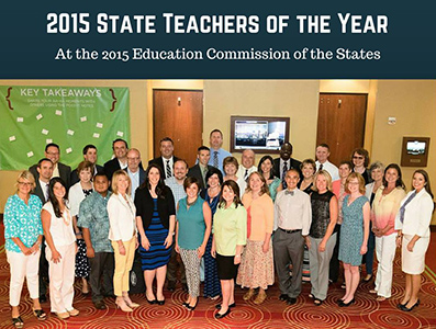 2015 State Teachers of the Year, Education Commission of the States