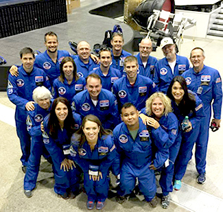 State Teachers of the Year at International Educator Space Camp